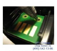 Чип желтого тонер-картриджа Xerox Phaser 7500dn