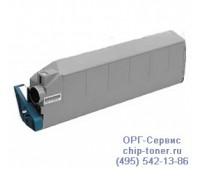 Картридж голубой OKI C9300 совместимый